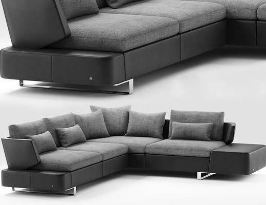 现代, 多人沙发, 沙发