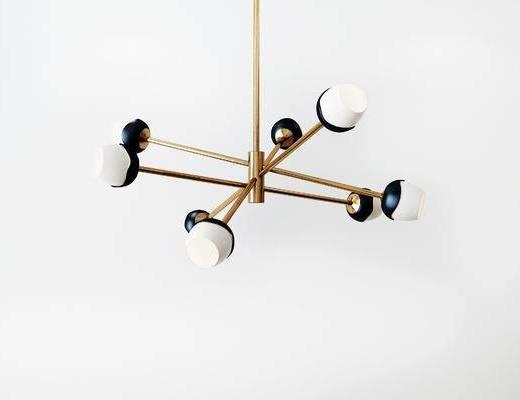 吊灯, 现代