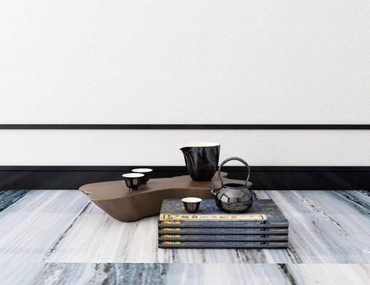 茶具, 摆件, 新中式