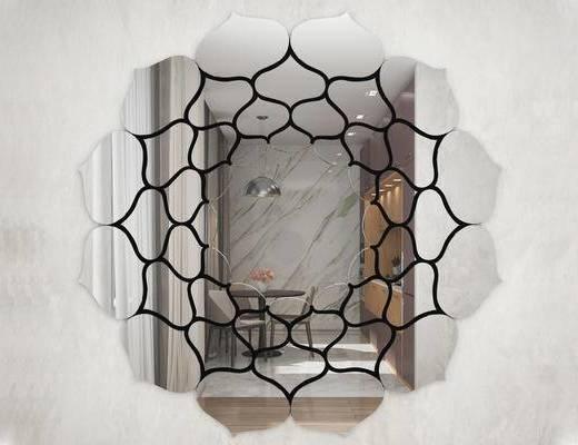 现代简约, 装饰镜子, 镜子, 意大利GardaDecor
