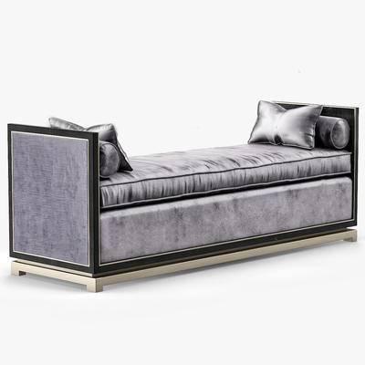 沙发凳, 美式