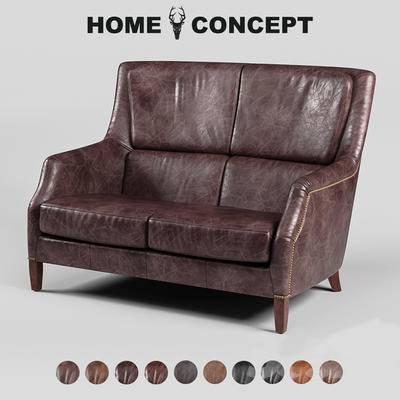 古典双人沙发, 双人沙发