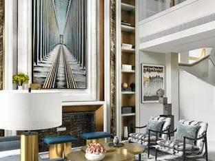 现代复式别墅客厅3D模型2_3d模型