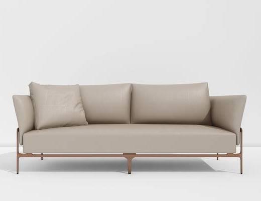 现代双人沙发, 沙发, 单椅