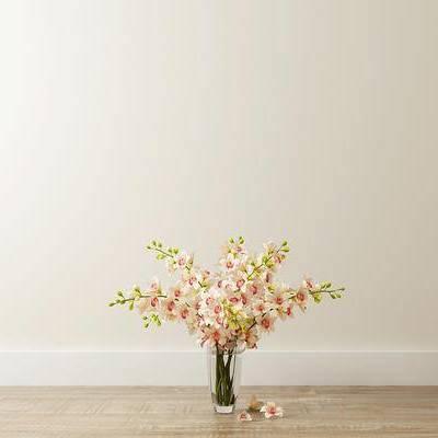 花卉, 花瓶, 北欧