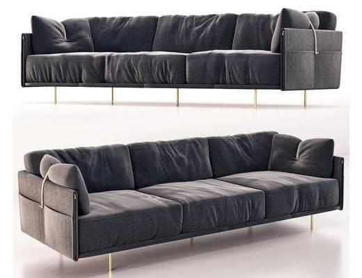 现代, 多人沙发