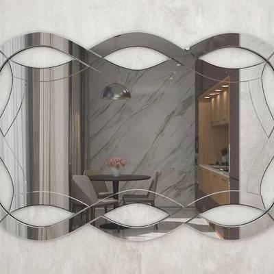 现代, 镜子, 意大利GardaDecor