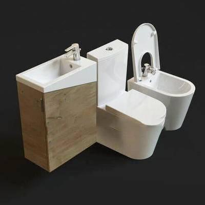 现代, 马桶, 卫浴