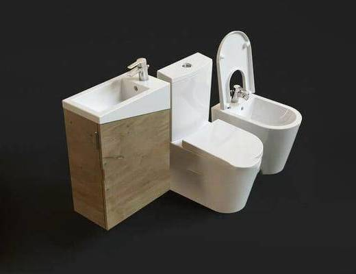 現代, 馬桶, 衛浴
