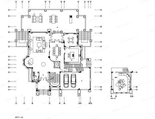 CAD, 施工圖, 家裝, 別墅, 平面圖, 立面圖, 梁志天, 下得樂3888套模型合輯