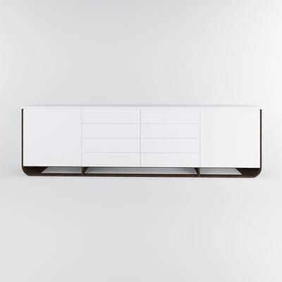 电视柜, 现代
