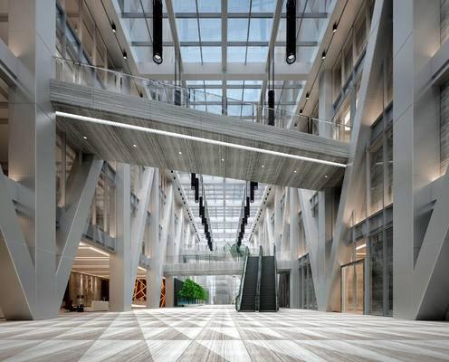 走廊过道, 商场, 现代
