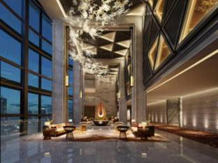 现代酒店洽谈区大厅大堂3D模型