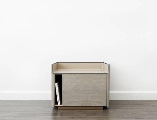 床头柜, 现代