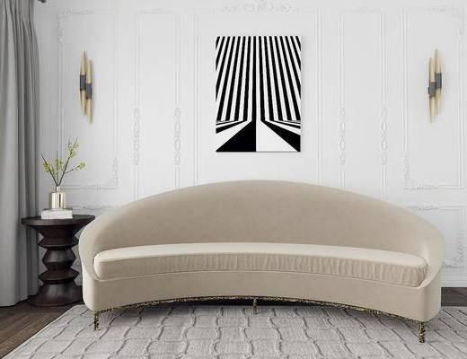 美国KOKET, 后现代, 沙发