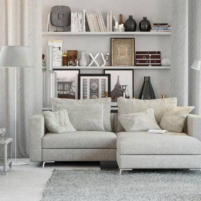 沙发组合, 沙发茶几组合, 北欧沙发, 多人沙发, 沙发, 北欧