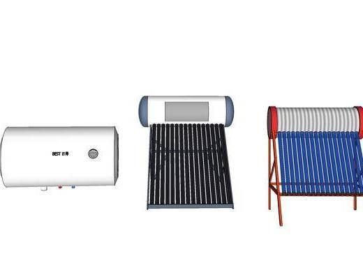 现代, 热水器, 装饰, 摆件