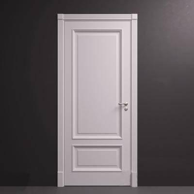 现代简约, 门, 构件门