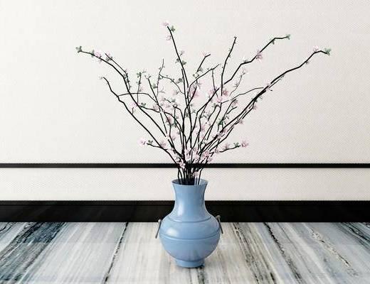 花瓶, 新中式