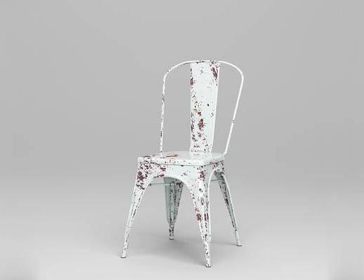 法国Tolix, 现代简约, 金属座椅, 椅子