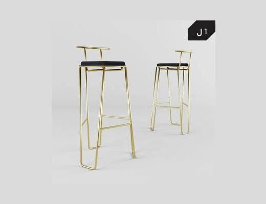 现代简约, 椅子, 现代椅
