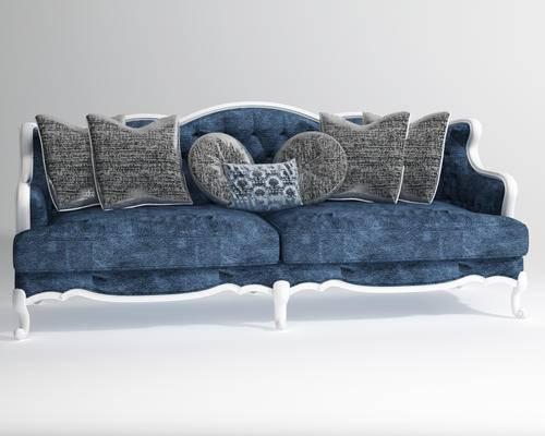双人沙发, 欧式