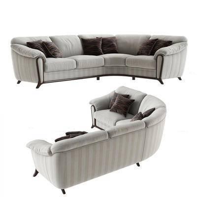 多人沙发, 新古典