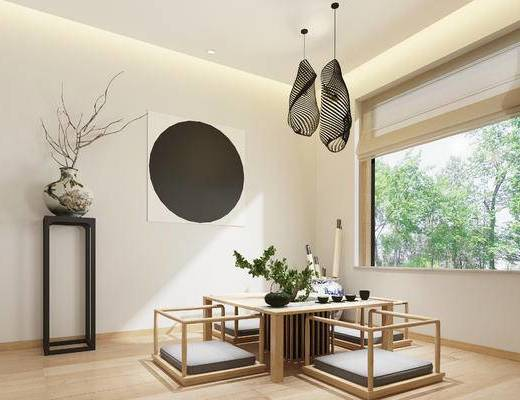 中式茶室, 榻榻米, 茶室