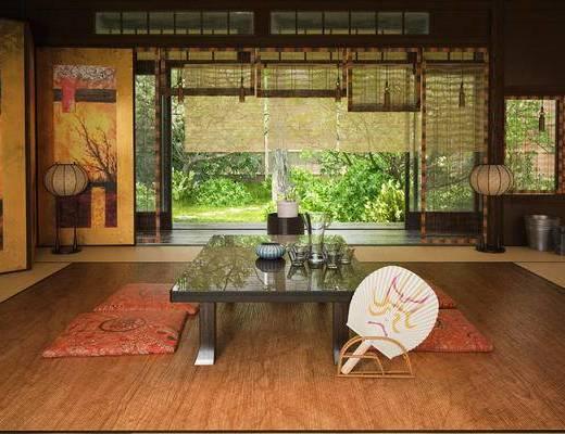 中式茶室, 茶室, 榻榻米