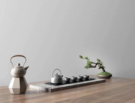 现代茶壶组合, 茶壶组合