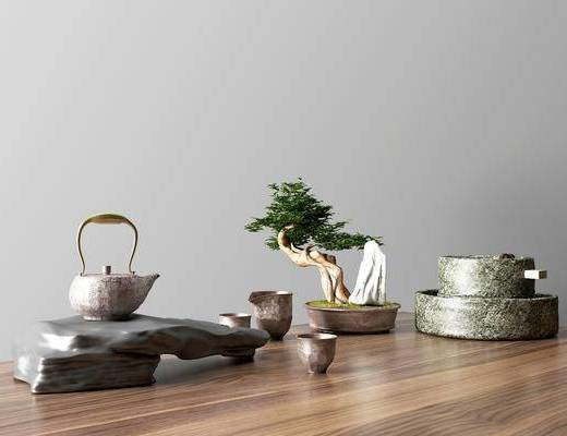 现代茶具组合, 茶具组合