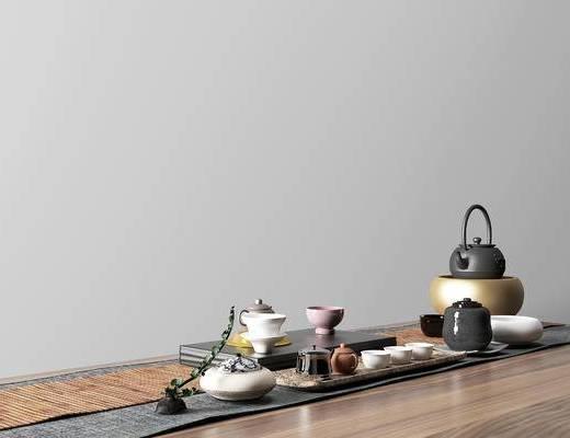 新中式茶具组合, 茶具组合