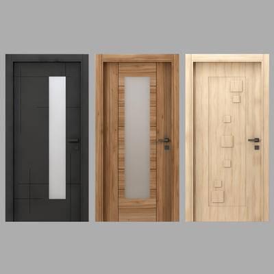 现代单门, 平开门, 门