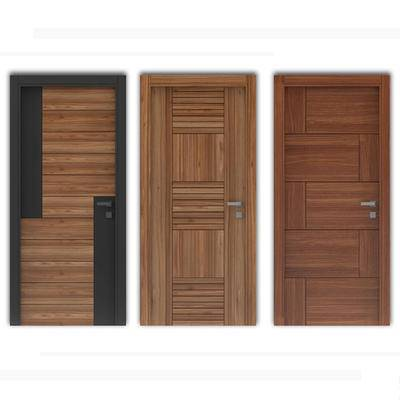 现代单门, 门, 平开门