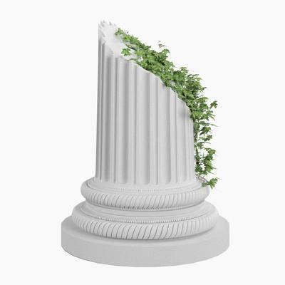 现代罗马柱, 罗马柱, 摆件