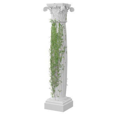 现代罗马柱, 罗马柱, 柱子