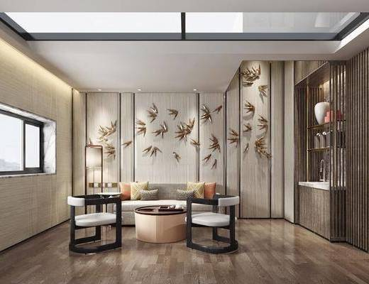 中式會客廳, 會客廳, 洽談會客