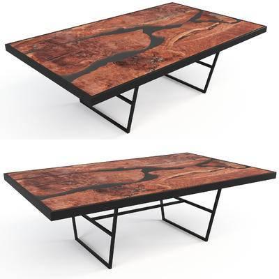 工业风桌子, 桌子
