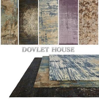 后现代地毯, 地毯, 方形地毯