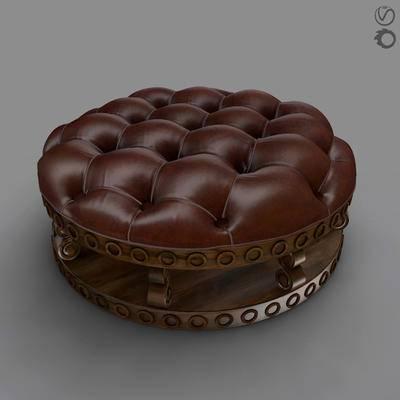 美式沙发凳, 古典沙发等, 沙发凳