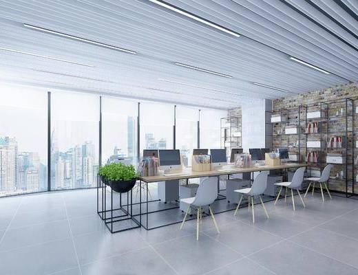 现代办公区, 办公区, 办公室