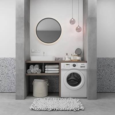 現代, 衛浴組合, 洗手臺組合