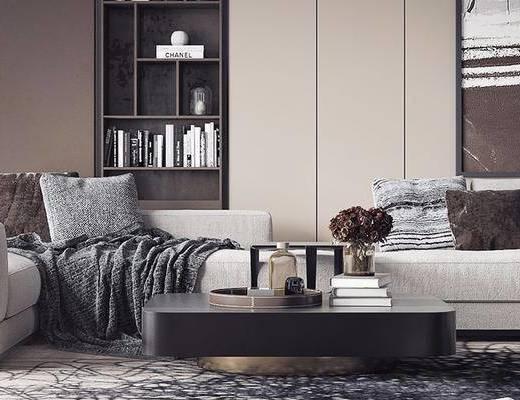 沙發組合, 多人沙發, 現代沙發