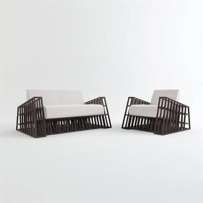 现代休闲沙发, 现代沙发, 沙发, 休闲沙发