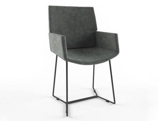 美式简约, 工业风, 椅子, 美式椅子