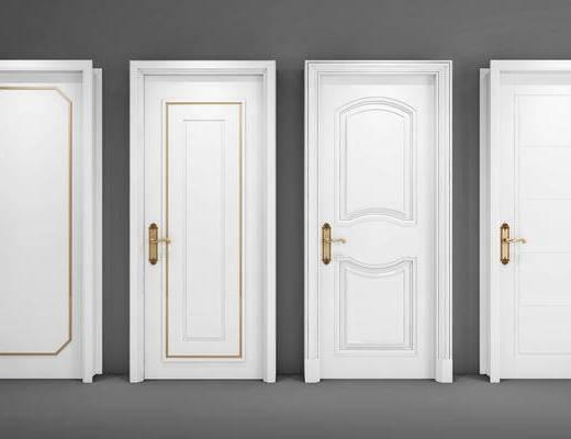 现代门, 门, 门构件, 构件, 现代