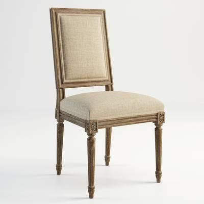 美式单椅, 单椅, 古典单椅