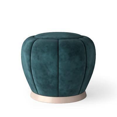 后现代沙发凳, 沙发凳