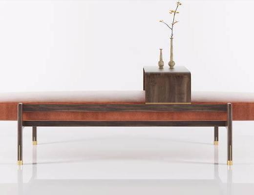 新中式沙发凳, 沙发凳