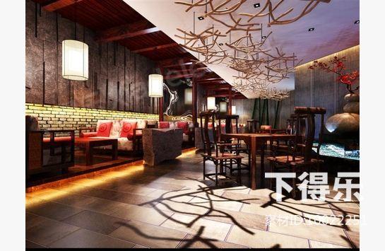 中式休闲茶座图片